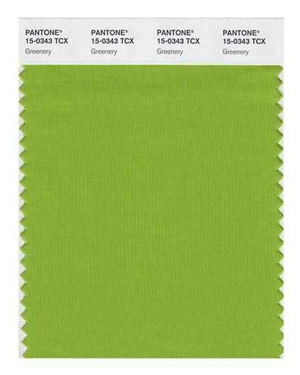Цвет свежей зелени